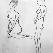 Pose and Proportion | Live Model Sketch