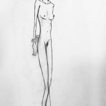 Proportion Study | Live Model Sketch
