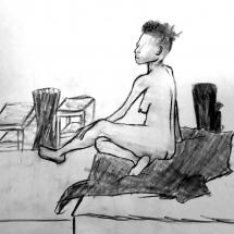 Human form study | Live Model
