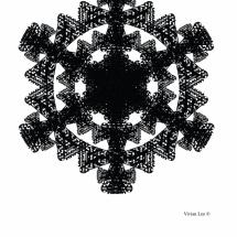 Letterform Snowflake C