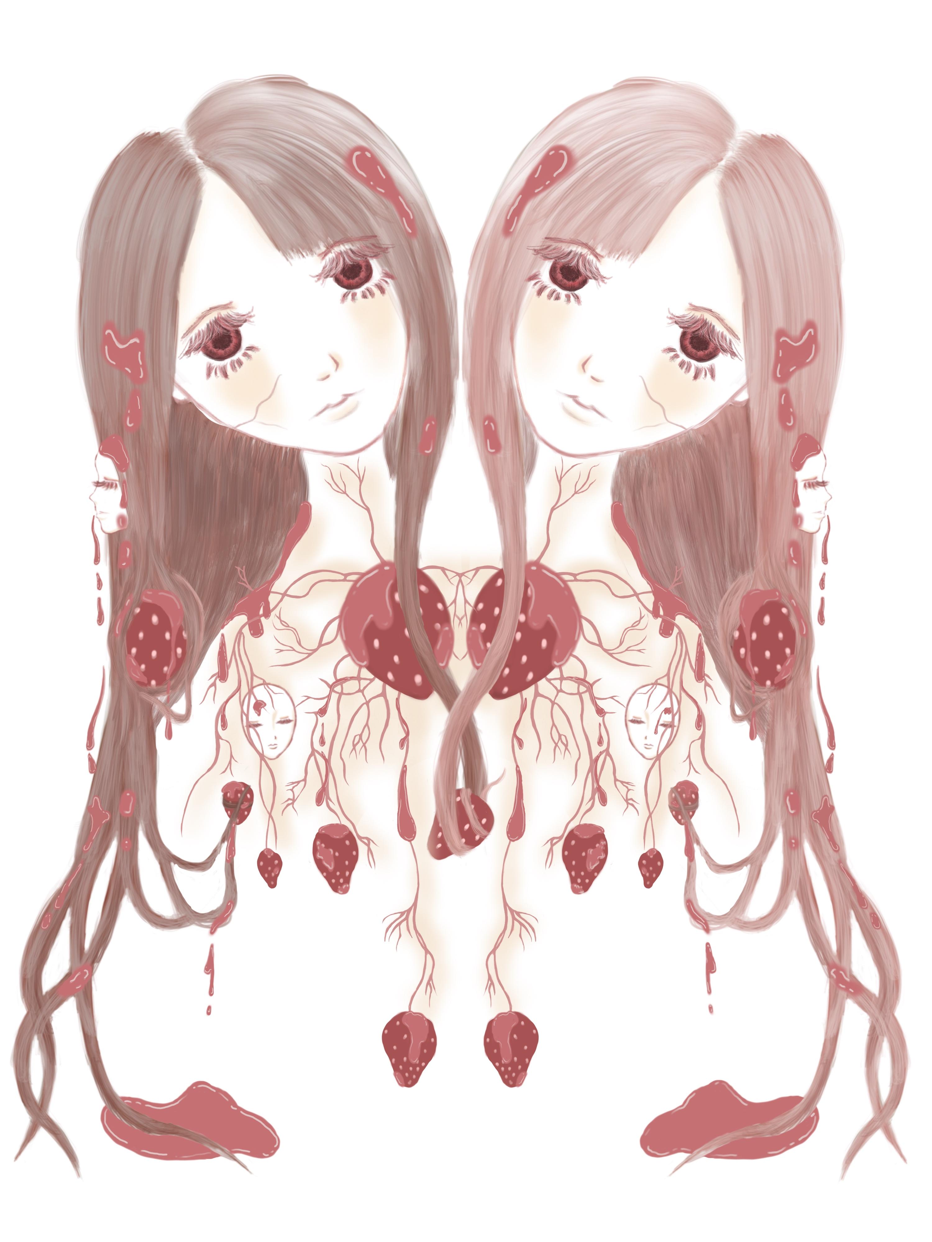 Strawberry Veins